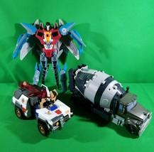 """Lot Of 3 Broken Transformers For Parts - Talking Starscream 10""""  2008-20... - $14.75"""