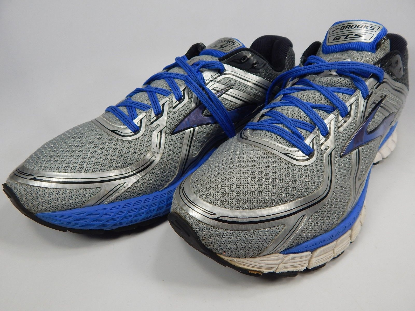 Brooks GTS 16 Size US 14 M (D) EU 48.5 Men's Running Shoes Silver 1102121D181