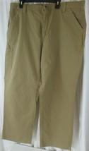 Carhartt B151 DKH Pants Canvas Work Carpenter Dungaree Dark Khaki Mens 4... - $38.70