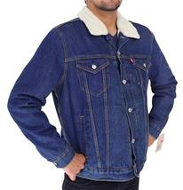 Levi's Men's Premium Button Up Denim Fleece Lined Jeans Jacket 72336001 size L image 4