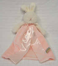 Pink BUNNIES By The BAY Cozy SECURITY Blanket L... - $14.95