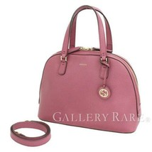 GUCCI Handbag Leather Purple Shoulder Bag 2Way 388560 Italy Authentic 52... - $751.85