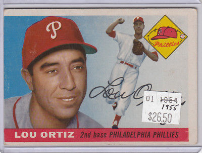 1955 Topps 114 Lou Ortiz Not Graded