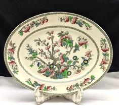 """Vintage Johnson Bros. Indian Tree 14"""" Oval Serving Platter - $14.80"""