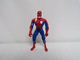ORIGINAL Vintage 1995 Marvel Toy Biz Battle Ravaged Spiderman Action Fig... - $18.51