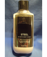 Bath and Body Works New Mens Steel Body Lotion 8 oz - $10.95