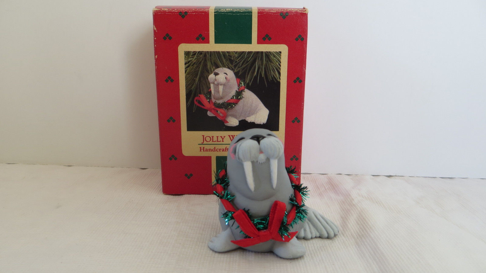 Primary image for Christmas Hallmark Keepsake 1988 Jolly Walrus Ornament #2