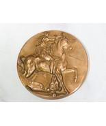 Salvador Dali L'Unicorne Dyonisiaque Bronze Medal 1968 Monnaie de Paris  - $217.80
