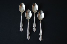 Rogers & Bros Daybreak Aka Elegant Lady 1952  Set of 4 Soup Spoons - $11.88