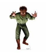 Wolf Man Halloween Lifesize Standup Standee Cardboard Monster Prop Life ... - $42.56