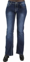 NEW DKNY PREMIUM WOMEN'S DENIM EXTREME BROOKLYN JEANS image 2