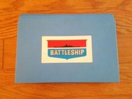 1971 Battleship Game - Replacement Part Blue Board Case - $10.39