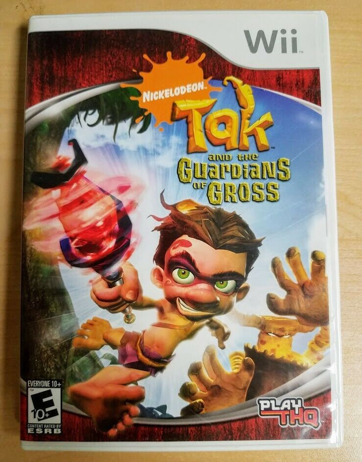 Primary image for Tak and the Guardians of Gross (Nintendo Wii, 2008) Complete