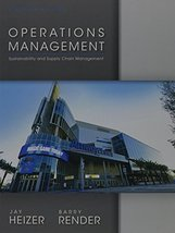 Operations Management (11th Edition) [Feb 09, 2013] Heizer, Jay and Rend... - $71.95