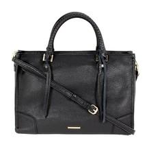 Authentic Shoulder Bag Rebecca Minkoff HS16IPBS31 Regan Satchel Tote Black New - $139.78