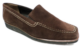 PAUL GREEN Brown Suede Size 6 Flats Loafers or Shoes - €18,30 EUR