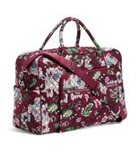 Vera Bradley Signature Cotton Iconic Weekender Bag, Bordeaux Blooms - $158.00