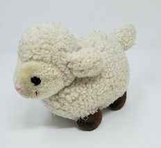 "8"" VINTAGE RUSS BERRIE LAMMY LAMB SHEEP STUFFED ANIMAL PLUSH TOY LOVEY A... - $23.38"