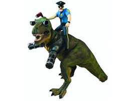Axe Cop and Wexter Action Figure 2-Piece Set New Mezco - $12.99