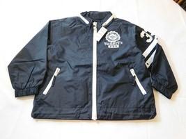 The Children's Place Youth Unisex Varsity Pro Jacket Long Sleeve Zip Up Navy Blu - $16.19