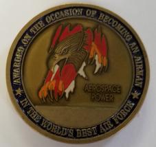 Usaf Air Force Aerospace Power Coin - $34.64