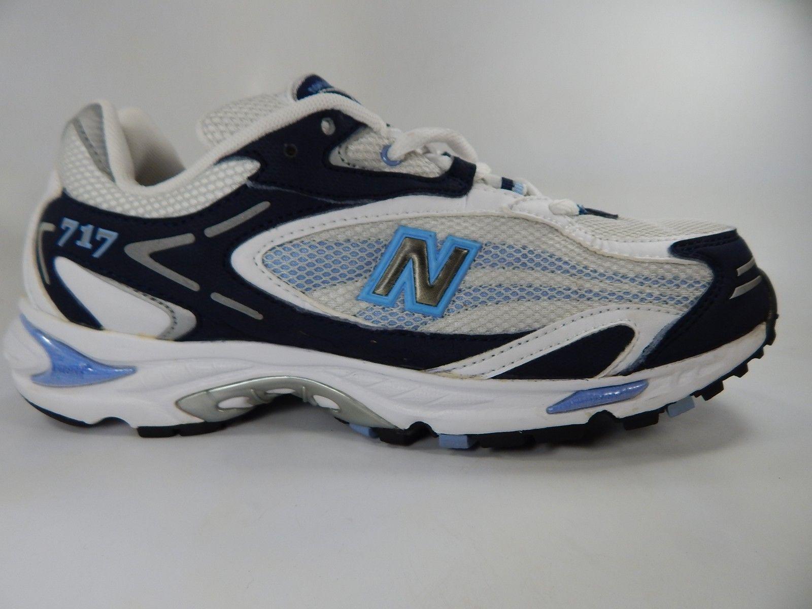 New Balance 717 Size 9.5 M (B) EU 41.5 Women's Running Shoes White Blue W717NB