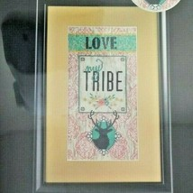 LOVE MY TRIBE Cross Stitch Kit 1388958 Deer Hunt Family Artiste MSRP $29.99 - $11.99