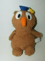 Russ Berrie Plush Home buddies graduation owl graduate USED beanbag terr... - $17.81