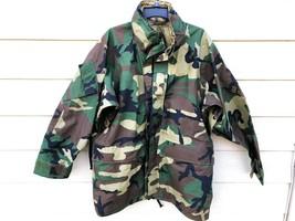 GENUINE USMC GEN II ECWCS GORE-TEX COLD WEATHER WOODLAND PARKA - LARGE R... - $163.35