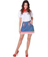 Ladies  JEAN FABRIC - Oktoberfest / Austrian Skirt/Blouse  XS-XXL - $30.17+