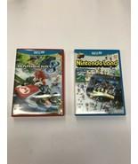 Lot Of 2 Nintendo Wii U Games Mario Kart 8 Nintendo Land COMPLETE VG - $20.12