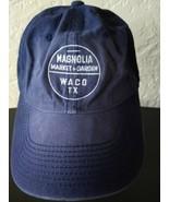 Magnolia Market Garden Waco TX Strapback hat cap OSFA Chip Joanna Gaines - $29.60