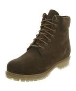 Timberland Mens 6 Inch Premium Boots Green TB0A18PZ - $235.37