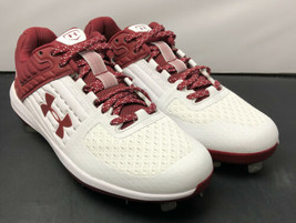 Under Armour UA Yard Low ST MLB Baseball Cleats 3021711-103 Mens Size 7.5 NEW!! - $54.39