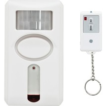 GE 51207 120dB Motion-Sensing Alarm with IR Keychain Remote - $43.56