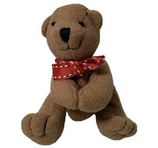 "Hallmark Teddy Bear Hug Clip On plush Stethoscope Small 2.5"" Brown - $12.19"
