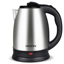 Electric Tea Kettle Hot Water Stainless Steel Cordless Pot Fast Boiler K... - €26,76 EUR