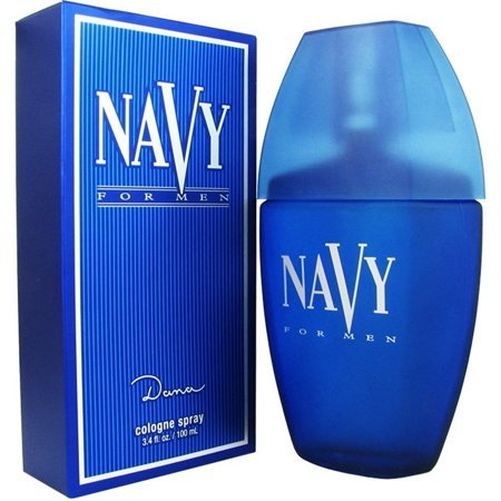 Primary image for Navy for Men by Dana 3.4 fl.oz / 100 ml Cologne Spray new cellophane pack box