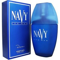 Navy for Men by Dana 3.4 fl.oz / 100 ml Cologne Spray new cellophane pac... - $26.98