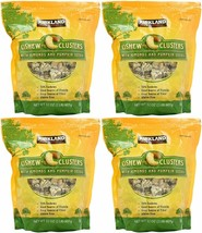 4 Pack Kirkland Signature Cashew Clusters With Almond & Pumpking Seeds 2 Lb Each - $68.31