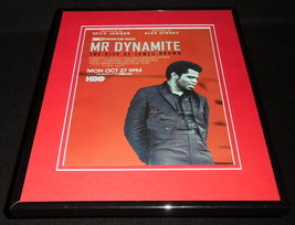 Mr Dynamite James Brown 2014 HBO Framed 11x14 ORIGINAL Vintage Advertise... - $22.55