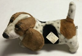 Vtg Russ Berrie Basset Hound Dog Plush Yomiko Collection Puppy Stuffed A... - $197.99
