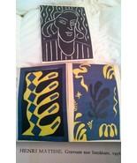 HENRI MATISSE LINOCUT prints XXeme Siecle edition Maeght RARE set 3 lith... - $2,303.00