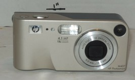 HP PhotoSmart M407 4.1MP Digital Camera - Silver - $24.55