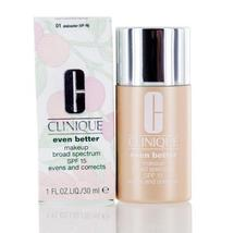 Clinique Even Better Makeup Shades 07- 19 with Spf 15 1.0 Oz - $34.99+