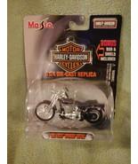 MAISTO HARLEY DAVIDSON CYCLES 2001 FXSTS SPRINGER SOFTAIL DIE CAST 1/24 ... - $14.80