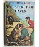 HARDY BOYS Secret of the Caves by Franklin W Dixon (c) 1929 Grosset & Du... - $12.86