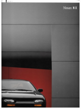 1991 Nissan NX 1600 2000 sales brochure catalog US 91 Coupe - $9.00