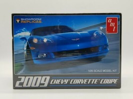 AMT 2009 Chevy Corvette Coupe 1:25 Scale Plastic Model Kit 685 Factory S... - $29.58