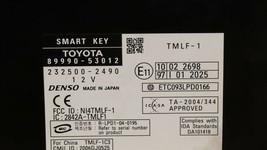 06 Lexus IS250 Smart Key Control Module Computer 89990-53012 & Fob image 2